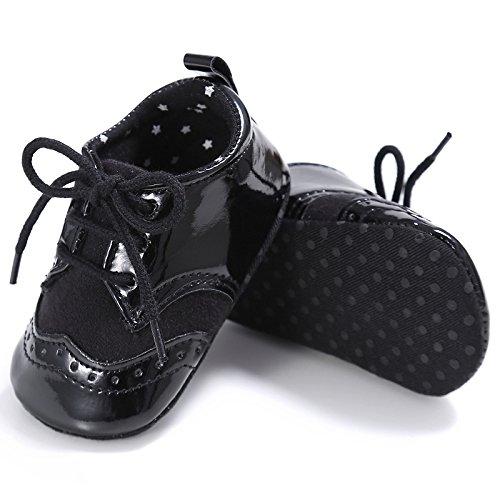 leap frogEngland Klassische Sneaker - zapatillas de baile (jazz y contemporáneo) Bebé-Niñas negro