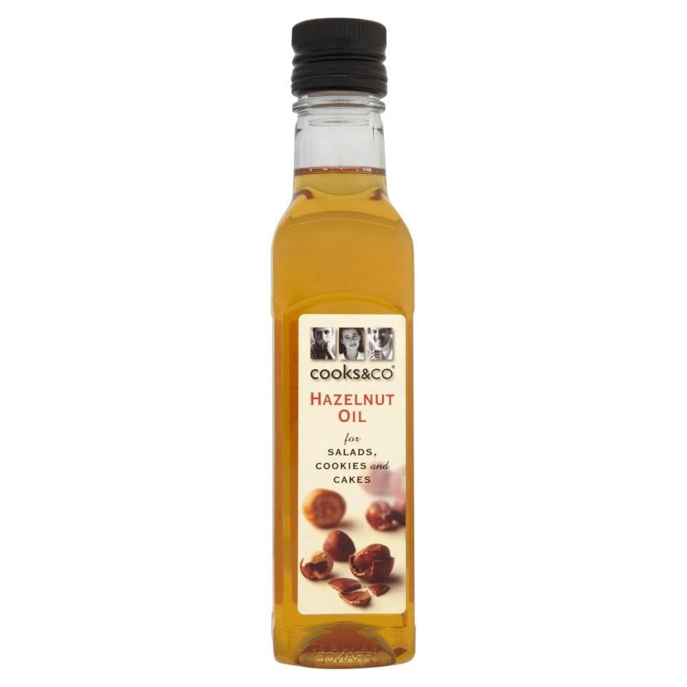Cooks & Co Hazelnut Oil (250ml) - Pack of 2 by cooks