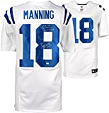 Peyton Manning Indianapolis Colts Autographed Nike White Elite Jersey with Multiple Career Stat Inscriptions - Fanatics Authentic Certified