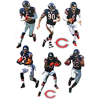 dcf6cf19 Amazon.com: Devin Hester Mini FATHEAD Chicago Bears Official NFL ...