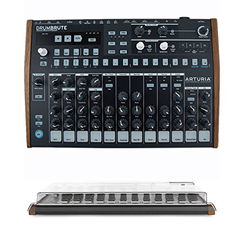 Arturia DrumBrute Analog Drum Machine with Protective Cover by Arturia