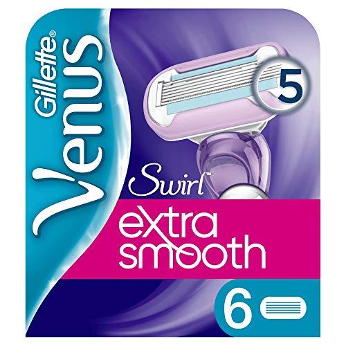 Gillette Venus Swirl Cuchillas De Afeitar Pack De 6