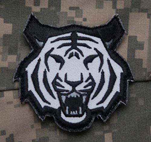 """Tiger Head Velcro Patch - SWAT"