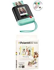 $189 » Polaroid Pop 2.0 2 in 1 Wireless Portable Instant 3x4 Photo Printer & Digital 20MP Camera (Green) with 3.5 x 4.25 inch Premium Zink Border Print Photo Paper (40 Sheets)
