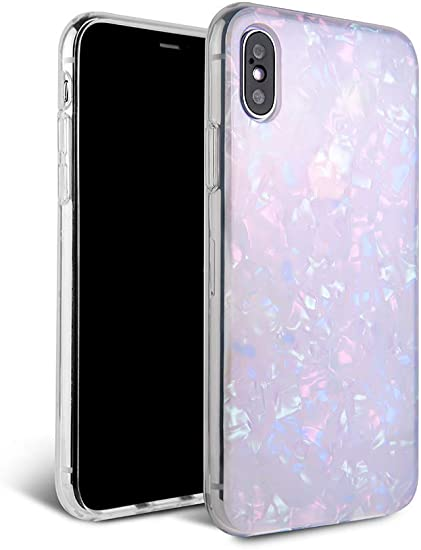 Blue Opal IPhone X Case IPhone XS Max Case IPhone X XR Case Marble IPhone 8 Plus Case IPhone 7 Case For Samsung Galaxy S9 Hard Case EP0009