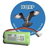 HQRP Cordless Telephone Battery for ATandT / Lucent BT18433, BT28433, General Electric GE 5-2734, Gold Peak GP70AAAH2BMJZR Replacement, Office Central