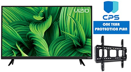 Vizio D-Series D32hn-E1 32″ Class Full-Array LED TV (Certified Refurbished) + Wall Mount Bracket + 1 Year CPS Warranty