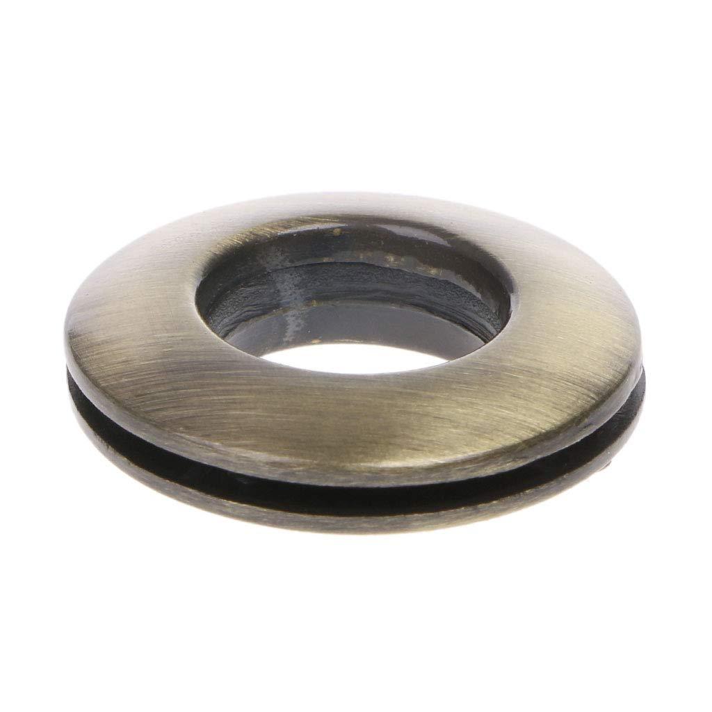 Round Shape Eyelet Metal Ring with Screw for Handbag Purse Shoulder Bag Parts Accessory RingBuu Handbag Buckles Silver
