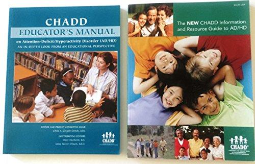 CHADD Educators Manual on AD/HD 2nd Edition