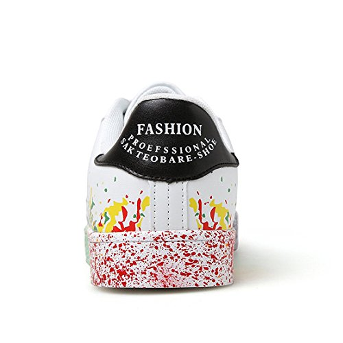 Femmes Plates MINBEI Marche pour Amants Sneakers Chaussures Chaussures Casual Hommes zBqzXrw