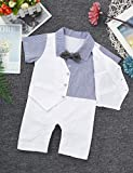 MSemis Infant Baby Boys Gentleman Formal White