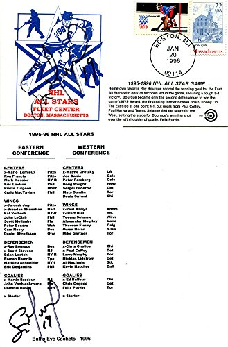 - Scott Mellanby Autographed Roster and NHL All Star Game Envelope