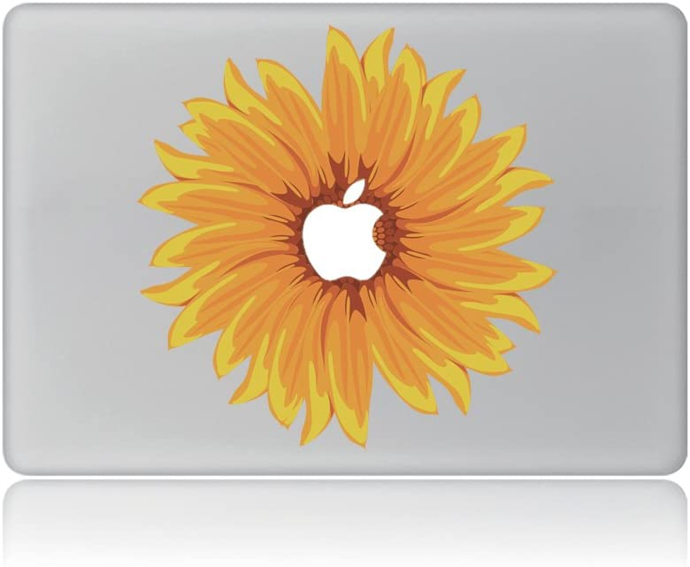 Blooming Sunflowers Removable Vinyl Laptop MacBook Sticker Decal for Apple Notebook MacBook Air Pro Retina 13 Inch