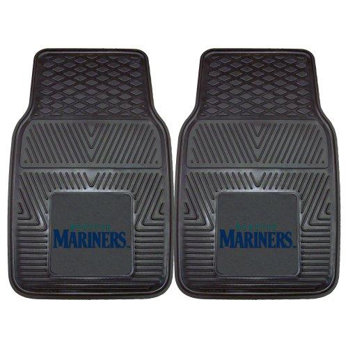 Fanmats 8849 MLB-Seattle Mariners Vinyl Universal Heavy Duty Fan Floor Mat (Mariners Seattle Mat)
