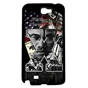 Malcolm X Hard Snap on Case (Galaxy Note 2 II) by supermalls