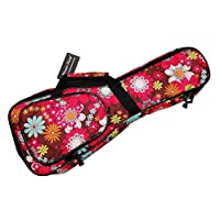 "MUSIC FIRST? cotton 21"" Soprano 23"" Cartoon Flower Ukulele Bags Gig Bags Guitar Cases ukulele cover"