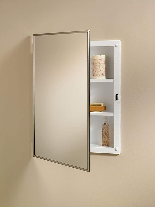 Jensen 84018CH Basic Styleline Recessed Mount Medicine Cabinet