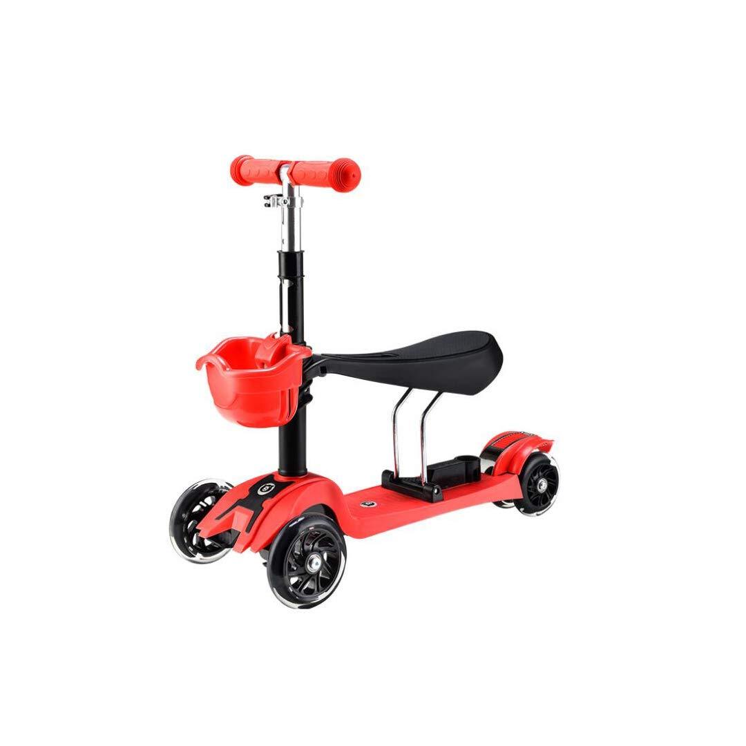 日本限定 TLMYDD 1人の幼児の子供のスクーター3人がベビースクーターの子供ウォーカー3または4ラウンドフラッシュスクーター61 x 24 TLMYDD x x 74 cmに座ることができます 子供スクーター 24 (色 : Green) B07NMWS7FN Red Red, 京菓子處 鼓月:2da123ca --- a0267596.xsph.ru