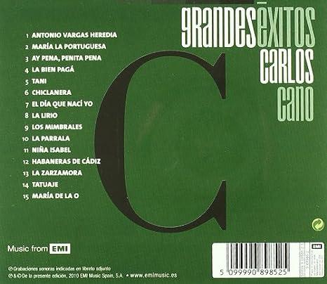 Grandes Exitos N.Ref: Carlos Cano: Amazon.es: Música