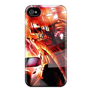 Aig6550gIGB Faddish Silver Surfer Case Cover For Iphone 4/4s