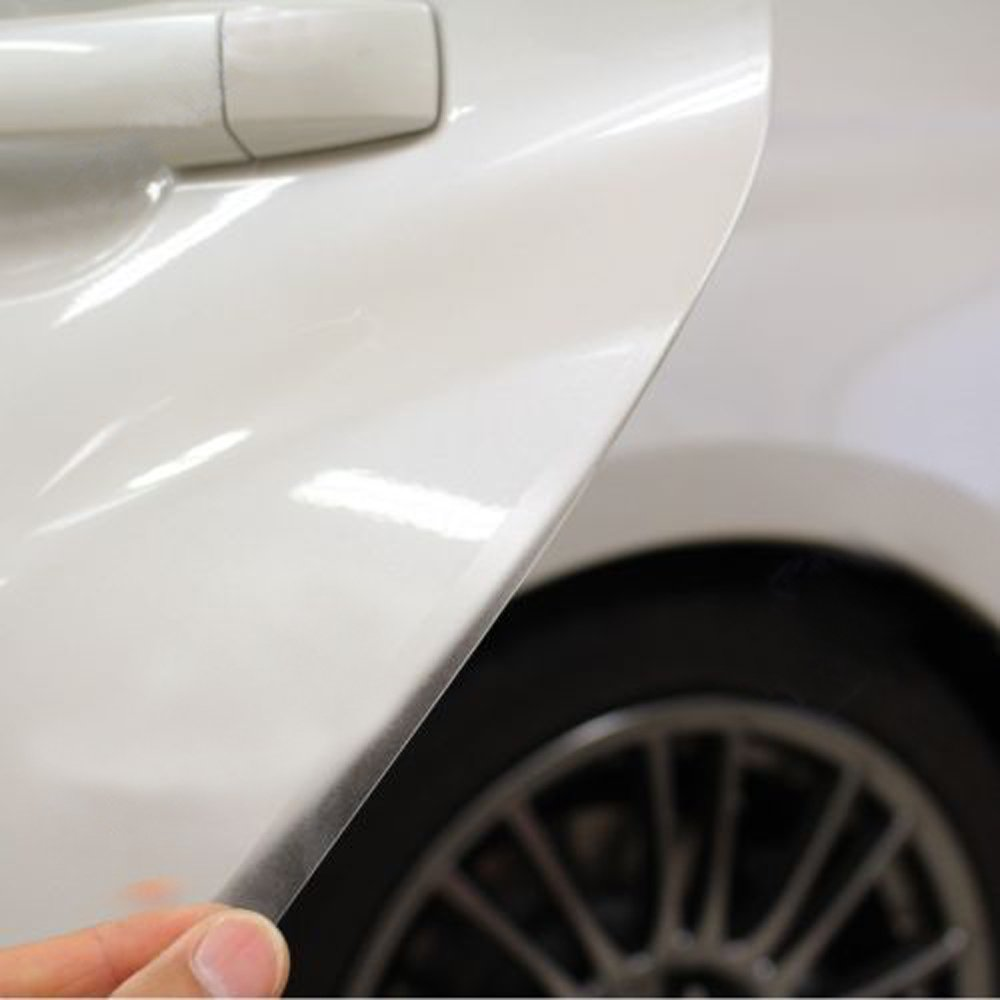 PerfecTech 5PCS 1/2' x 36' Clear Door Edge Guard Thick Clear Bra Paint Protection Film for 4 Doors