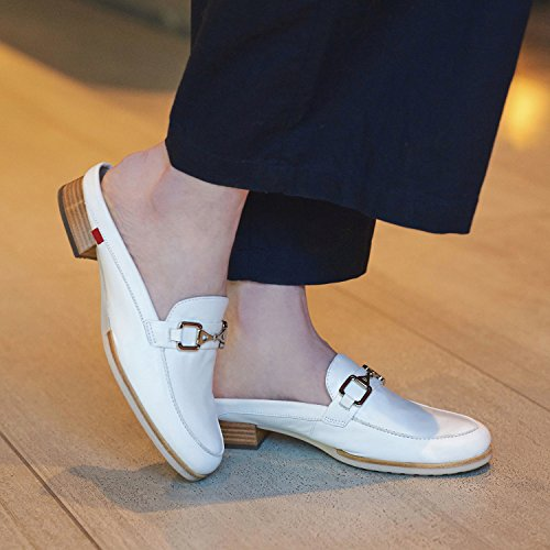 Made Womens Shoes Ave Fashion Napa Marc Casual in Brazil NY Park White Mule Joseph Leather Genuine 0UnUOET