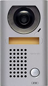 Aiphone JF-DV Vandal-Resistant Surface-Mount Audio/Video Door Station for JF Series Intercom System, Cast Zinc Housing by AIPHONE COMMUNICATIONS