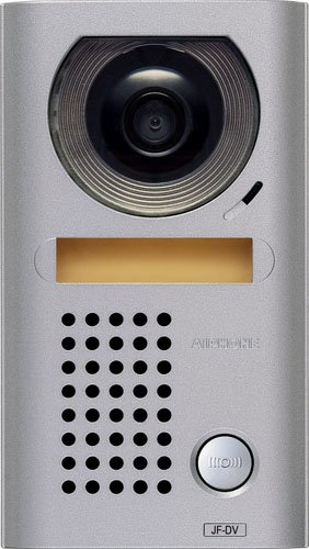 Aiphone JF-DV Vandal-Resistant Surface-Mount Audio/Video Door Station for JF Series Intercom System, Cast Zinc Housing