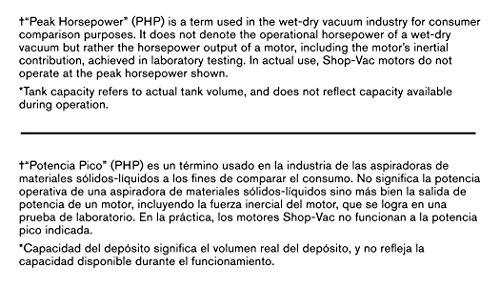Shop-Vac 5989300 5-Gallon 4.5 Peak HP Stainless Steel Wet Dry Vacuum by Shop-Vac (Image #8)
