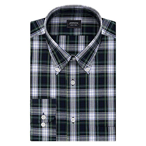Arrow Men's Big and Tall Wrinkle-Resistant Poplin Dress Shirt