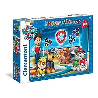 Clementoni Paw Patrol Maxi Supercolor Puzzle 104 Pezzi 23972