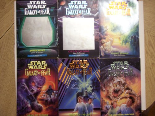 Nightmare Machine (Star Wars: Galaxy of Fear (1-6 Volume Set: Eaten Alive / City of the Dead / Planet Plague / The Nightmare Machine / Ghost of the Jedi / Army of Terror))