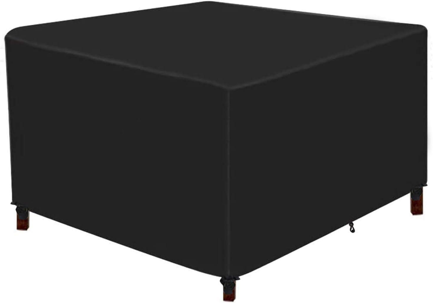 Flagicon Funda para Muebles de Jardín, Funda Protectoras Muebles Exterior Impermeable Anti-UV a Prueba de Viento Resistente al Polvo, Paño Oxford 420D Cubierta de Mesa de jardín para Patio Jardin