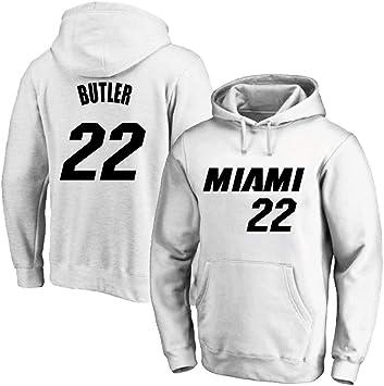 AMJUNM Hombre Mujer Sudadera con Capucha De Baloncesto NBA Miami ...