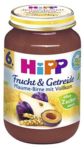 Hipp - Bio Frucht & Getreide Pflaume-Birne mit Vollkorn - 190g