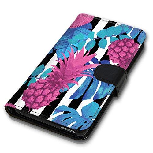 Wallet Book Style Flip Handy Tasche Case Schutz Hülle Schale Motiv Etui für Apple iPhone 5 / 5S - Design Flip MVD118