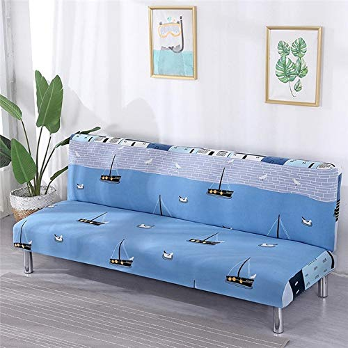 All-Inclusive Sofa Cover Wrap Elastic Sofa Towel Slipcover Covers Couch Without Armrest Folding Sofa Bed Fundas De Sofa   07, L width55-65cm