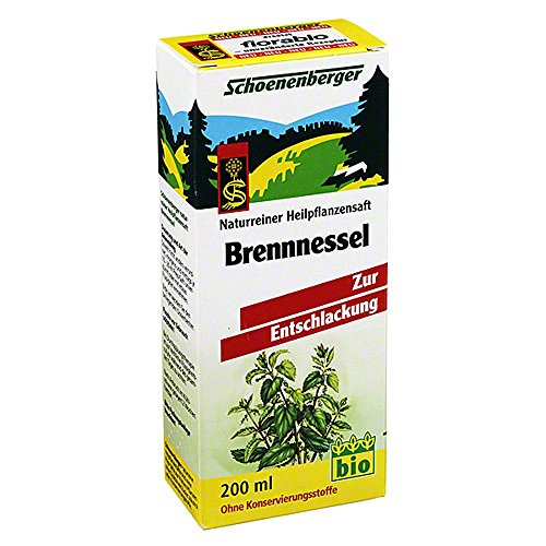 Brennesselsaft Schoenenberger, 200 ml