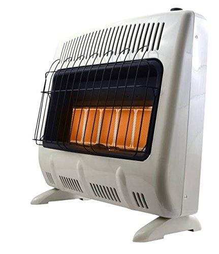 Mr. Heater Corporation F299830 30,000 BTU Vent Free Radiant Propane Heater, MHVFRD30LPT