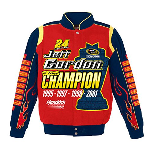 Jeff Gordon Nascar Champion Jacket Size Small