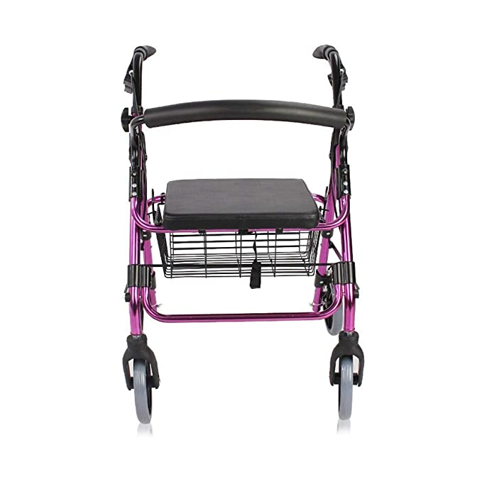 Ping BU Qing Yun Carro for Silla de Ruedas Andador de Aluminio ...