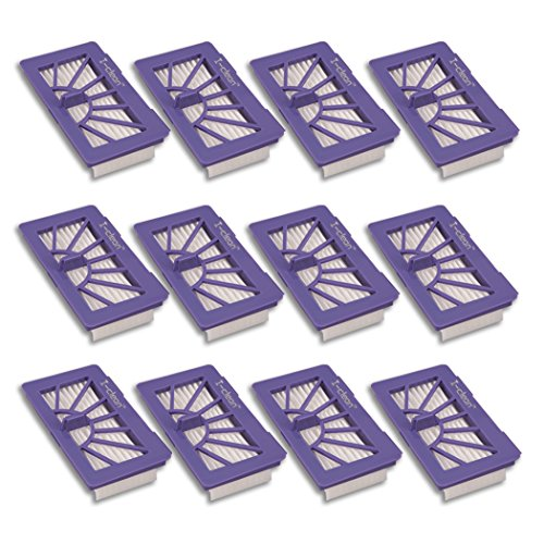 I-clean Replacement Neato xv-21 Filters, [12PACKS] Filters for Neato XV Series Robot Vacuums ,XV Signiture Pro Vacuum Cleaner Parts