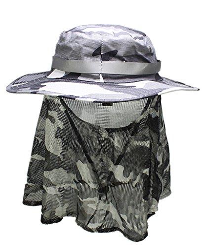 Home prefer outdoor men s sun hat wide brim breathable for Home prefer hats