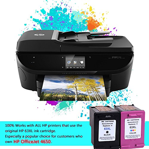 Ink Topia Remanufactured Ink Cartridge for HP 63XL 63 XL Compatible