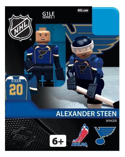 NHL St. Louis Blues Alexander Steen Generation 1 Toy Figure (Blue Figure Toy)