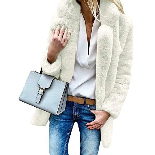 Femme Pour Au Tendance Blanc Winkey Chaud Manteau D'hiver Garde vqnPwwYItg