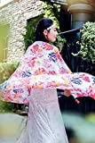 Generic Country style scarf silk shawl women girls lady summer sun beach Korean version of the pastoral style cotton spring and autumn