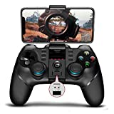ipega-PG-9156 Wireless 4.0 +2.4G Mobile online games Gamepad Controller for Samsung Galaxy S10/S9 /S20 /P40 P30 LG VIVO Oppo MI Mate Android Mobile Smartphone Tablet (Android 6.0 Higher System)