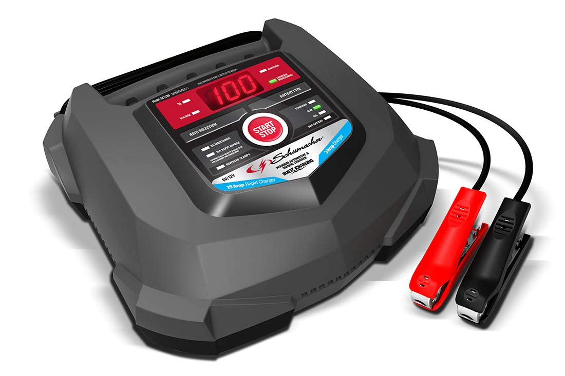 Schumacher SC1280 6/12V Rapid Battery Charger and 15A Maintainer by Schumacher (Image #2)