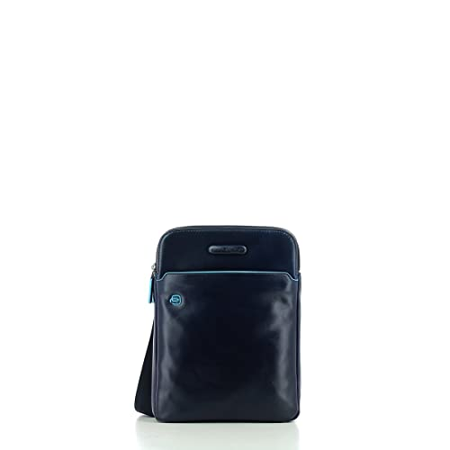 f284fa823ffcb1 Borsello porta iPad®Air/Pro 9,7 con porta penne Blue Square: Amazon.it:  Abbigliamento